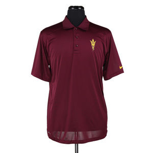 Nike Dri-Fit Arizona State Sun Devils Polo Medium